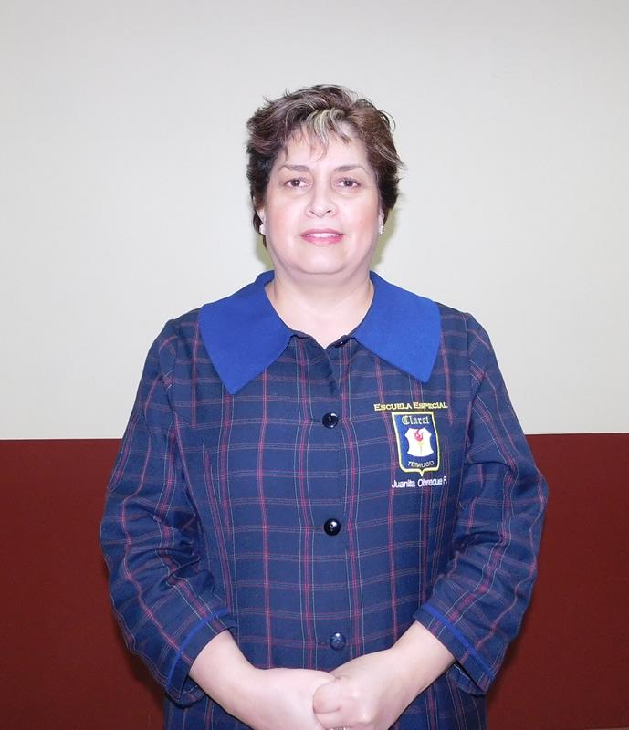 Juanita Obreque, auxiliar
