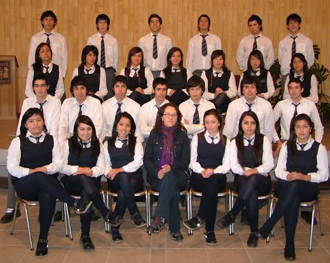 """Cuarto Año """"A"""" Educación Media"""