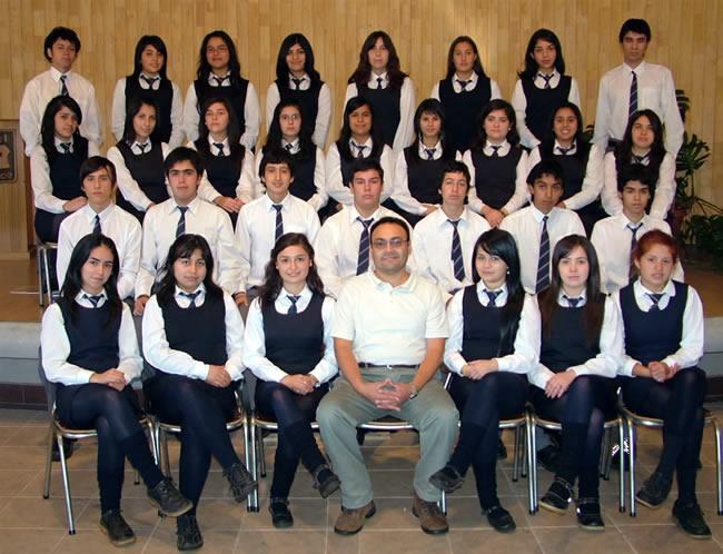 """Cuarto Año """"G Educación Media"""