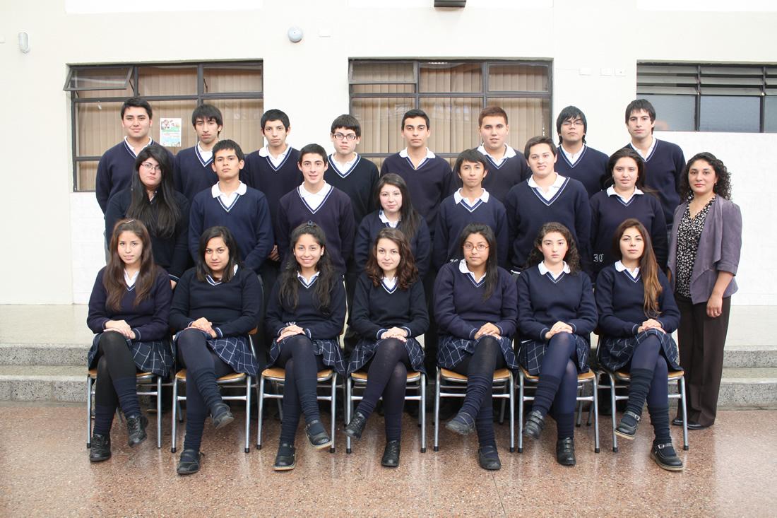 """Cuarto Año """"B"""" Educación Media"""