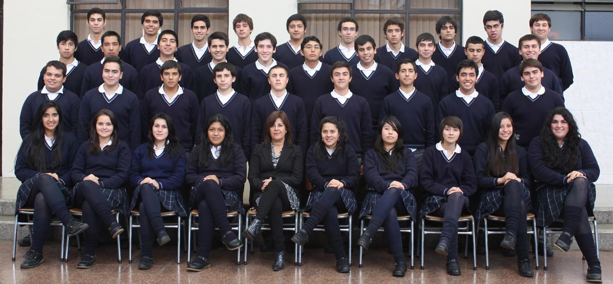 """Cuarto Año """"E"""" Educación Media"""