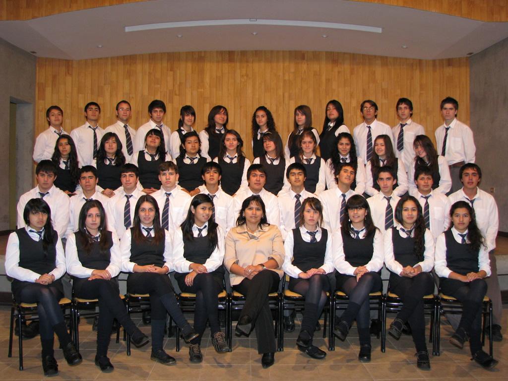 """Cuarto Año """"G"""" Educación Media"""