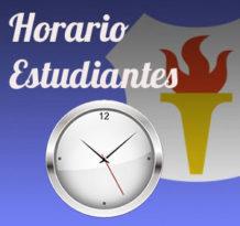 horario estudiantes