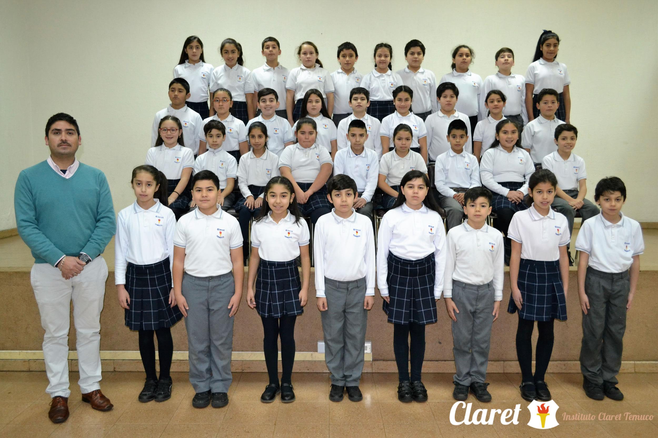 """Quinto Año """"D"""" Educación Básica"""