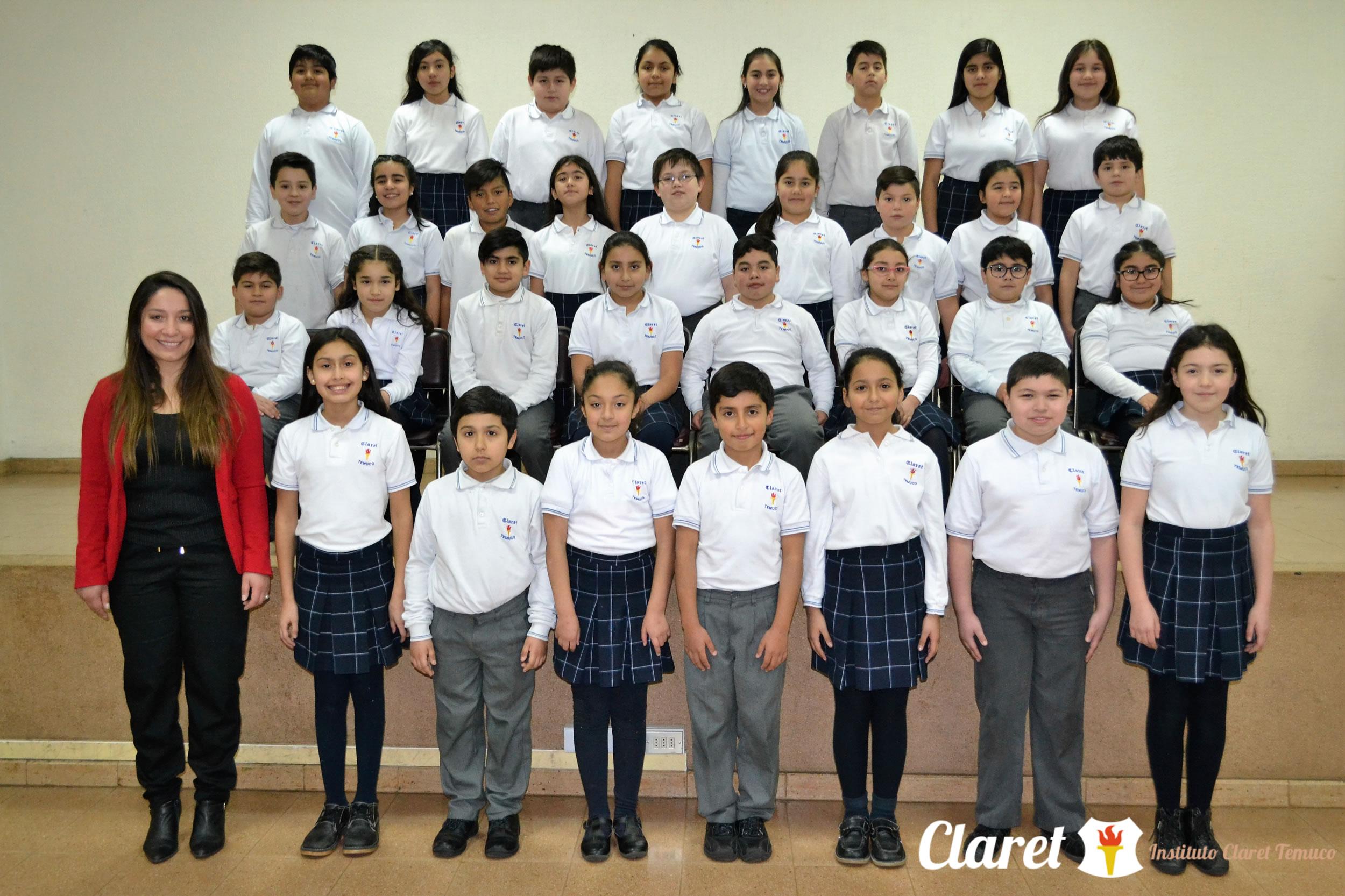 "Quinto Año ""E"" Educación Básica"