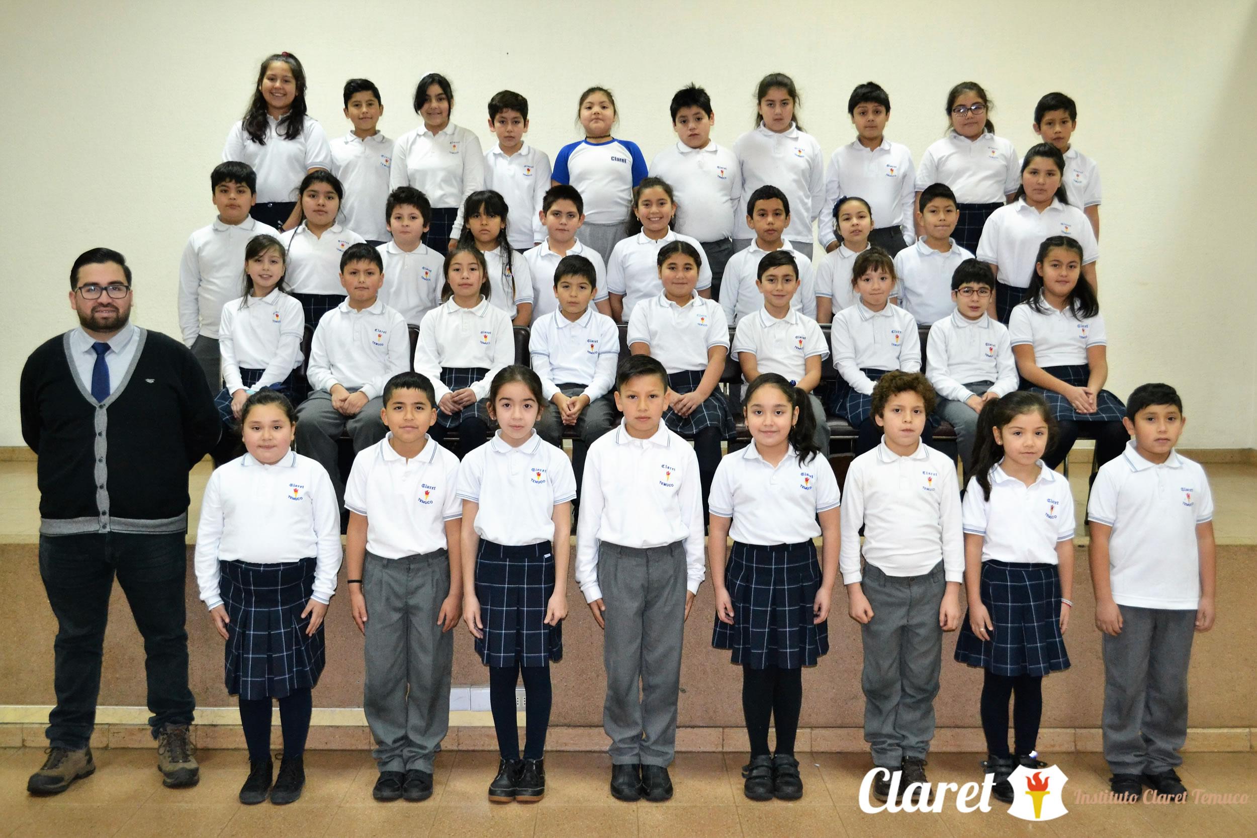 """Cuarto Año """"G"""" Educación Básica"""